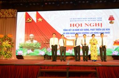 Ban Quản lý các KCN Bắc Ninh: Một năm hoạt động thành công