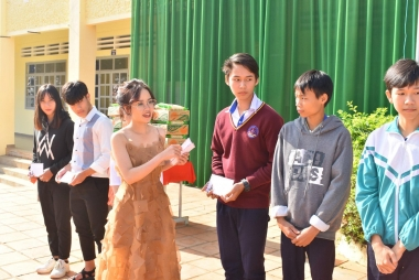 Lâm Đồng: Trường THPT Trường Chinh tổ chức Lễ hội mừng xuân 2020