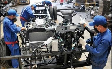 Chỉ số sản xuất công nghiệp tháng 01/2021 tăng 22,2% so với cùng kỳ
