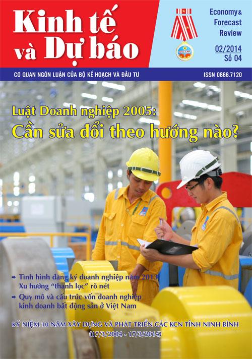Giới thiệu Tạp chí Kinh tế và Dự báo số 04 (564)