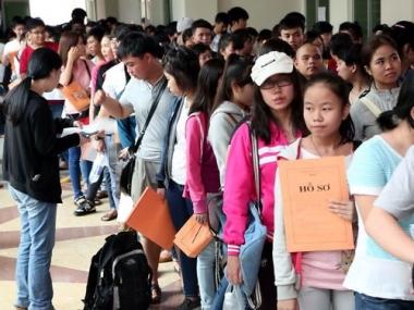 Tuyển sinh đại học, cao đẳng năm 2016: Thí sinh không phải đến trường nộp hồ sơ