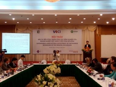 Tìm giải pháp để doanh nghiệp Việt đầu tư bền vững trong lĩnh vực nông nghiệp ở Tiểu vùng Mê Kông