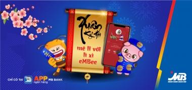 Lì xì online thời 4.0 trên App Ngân hàng MBBank