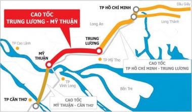 Phấn đấu đến năm 2020, thông xe tuyến đường cao tốc Trung Lương – Mỹ Thuận
