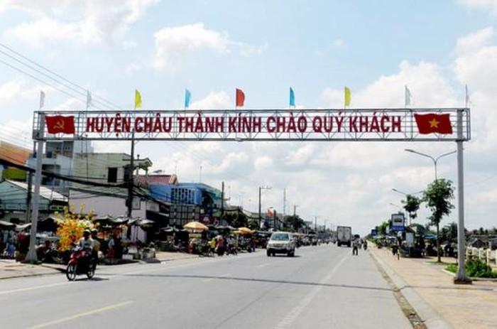 Huyện Châu Thành, tỉnh Long An đạt chuẩn nông thôn mới
