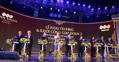 Khai trương FLC Vĩnh Thịnh Resort giai đoạn 1