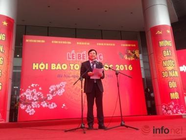 65 giải thưởng báo chí được trao tại Hội báo toàn quốc 2016