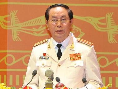Đại tướng Trần Đại Quang được đề cử bầu vào chức danh Chủ tịch nước