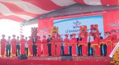 Khánh thành nhà máy nước giải khát Number One Chu Lai tại tỉnh Quảng Nam