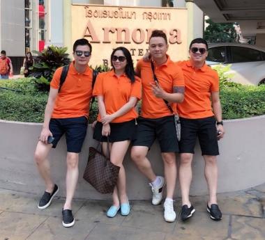 Hàn Thái Tú, Quang Dũng rủ nhau đi du lịch Thái Lan nhân dịp đầu năm