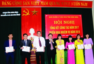 Ban Quản lý các KCN tỉnh Ninh Bình: Hoạt động quản lý nhà nước đi vào thực chất và hiệu quả