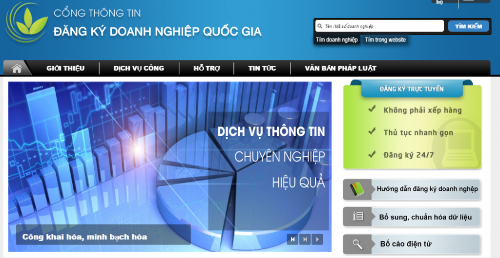 Kinh nghiệm triển khai đăng ký doanh nghiệp qua mạng điện tử của Hà Nội