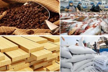 Tháng 02/2019, kim ngạch xuất khẩu nông, lâm, thuỷ sản giảm nhẹ