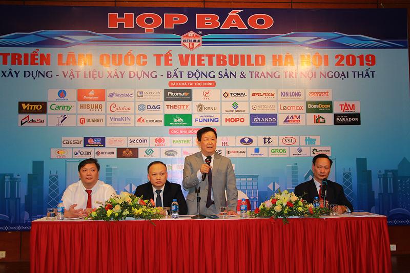 Triển lãm Vietbuilt Hà Nội 2019 lần thứ nhất thu hút 18 quốc gia và khu vực tham gia
