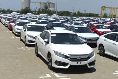 Tháng 02/2020, sản lượng tiêu thụ ô tô đạt 17.616 xe