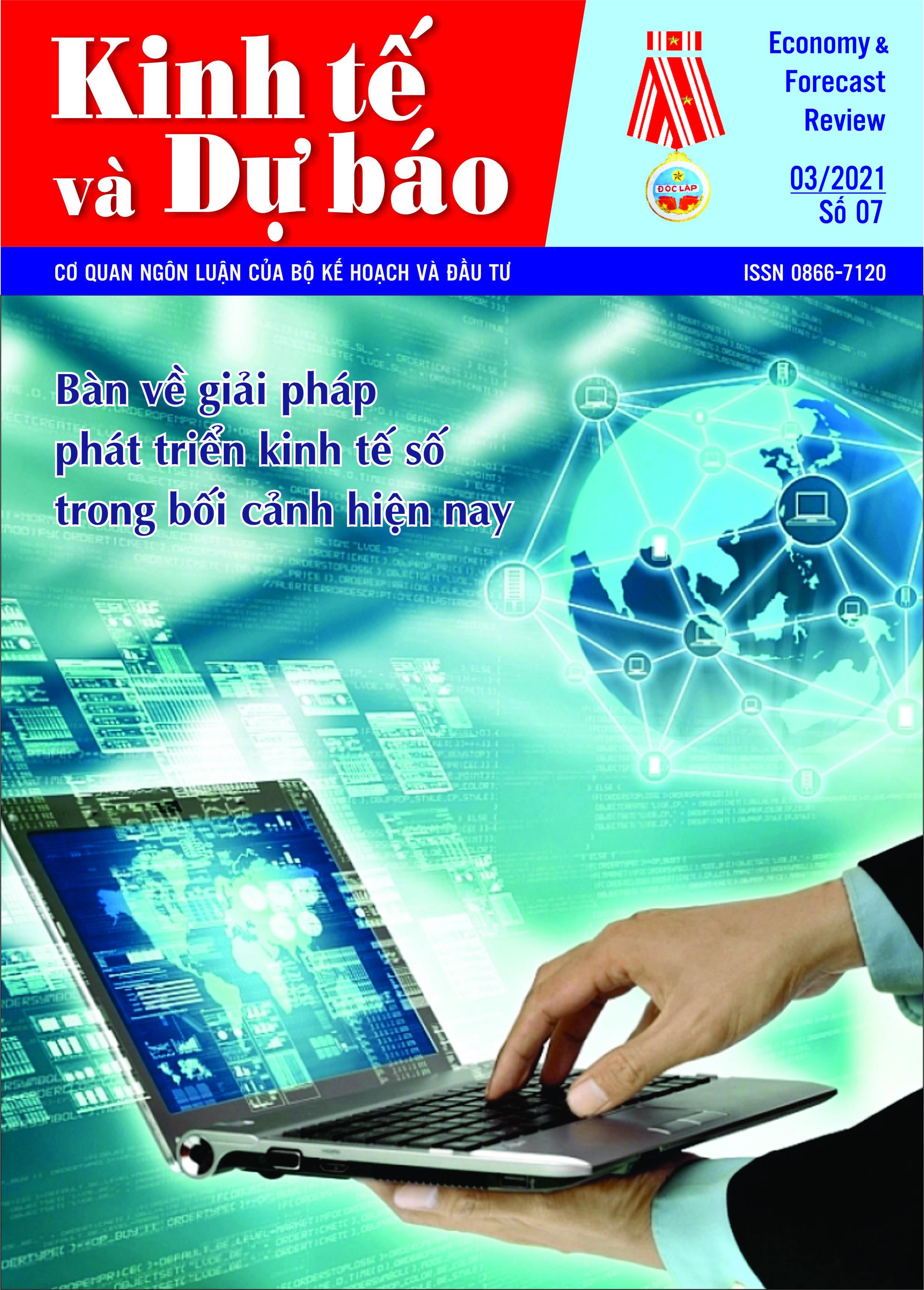 Giới thiệu Tạp chí Kinh tế và Dự báo số 7 (761)