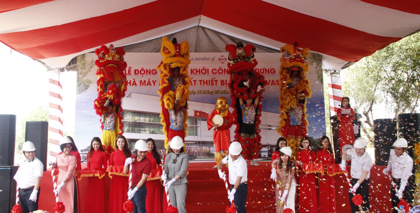 Dược Cửu Long khởi công xây dựng Nhà máy tại Vĩnh Long