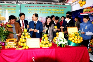 Huyện Vũ Quang, tỉnh Hà Tĩnh đạt chuẩn nông thôn mới