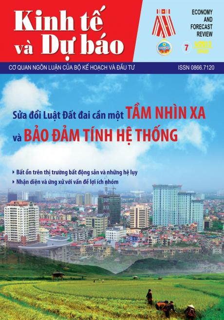 Giới thiệu Tạp chí Kinh tế và Dự báo số 7 (543)