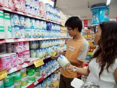 50 mặt hàng sữa trẻ em giảm giá từ 20/4