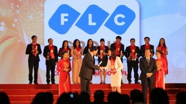 """Tập đoàn FLC đạt danh hiệu """"Thương hiệu mạnh"""" năm 2015"""