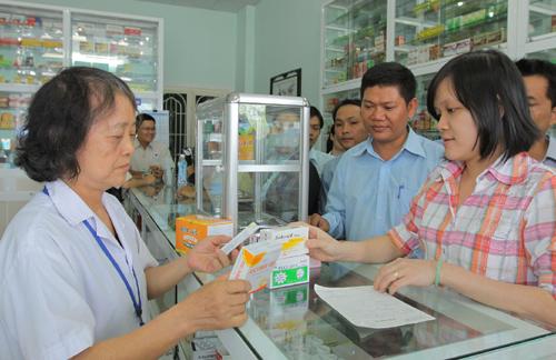 Cấm bán thuốc kê đơn mà không có đơn thuốc