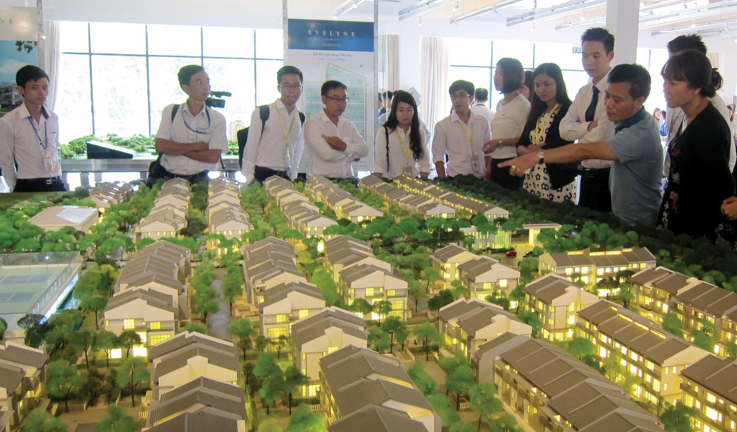Nhà liền kề TP. Hồ Chí Minh hút khách