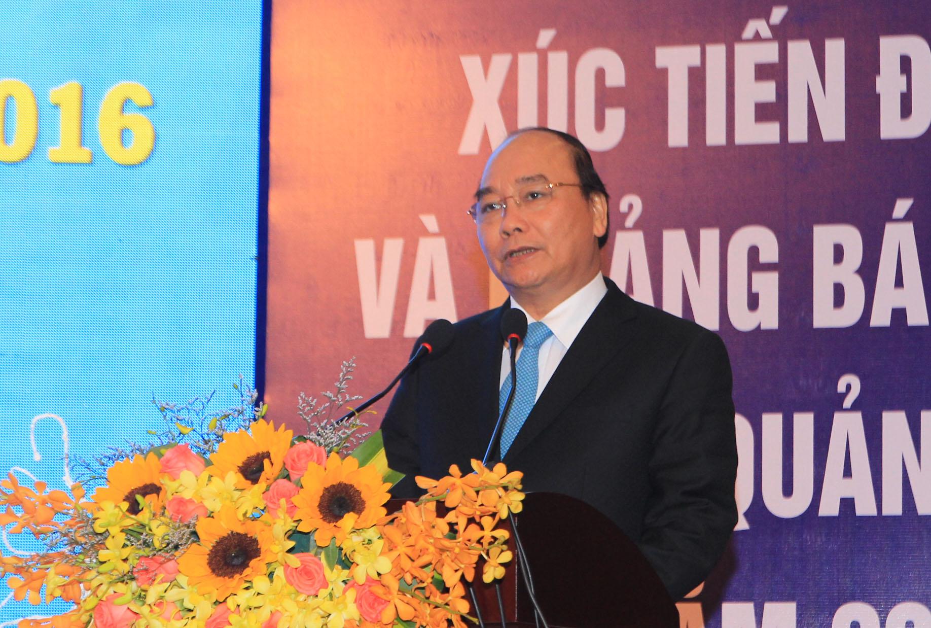 Thủ tướng Nguyễn Xuân Phúc dự Hội nghị Xúc tiến đầu tư và quảng bá du lịch tỉnh Quảng Trị