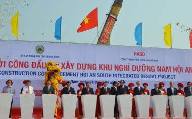 Quảng Nam: Khởi công dự án nghỉ dưỡng 4 tỷ USD