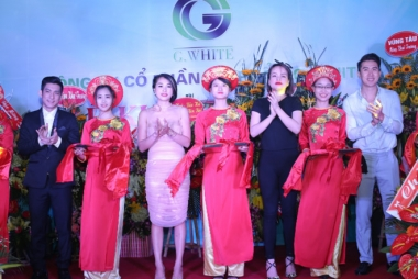 Mỹ phẩm G-White khai trương chi nhánh Bắc Giang