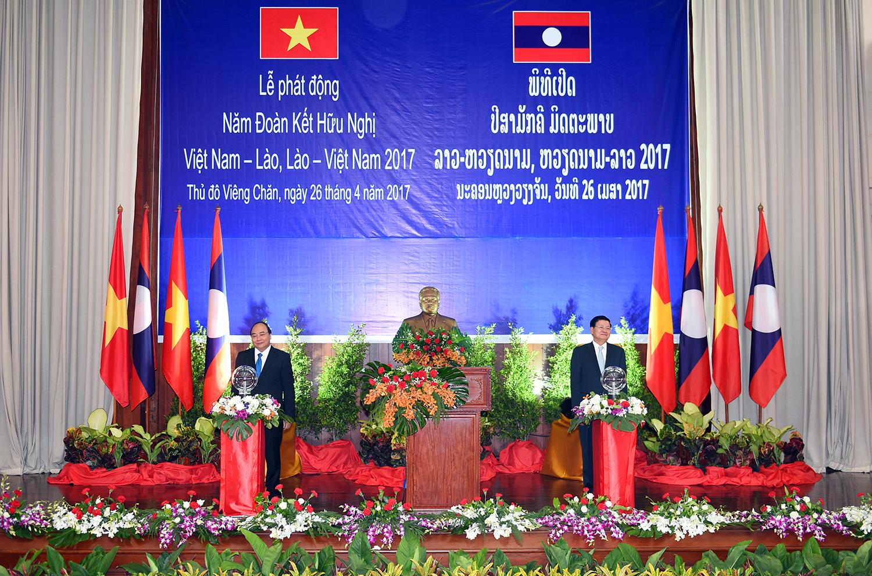 Phát động Năm đoàn kết hữu nghị Việt -Lào
