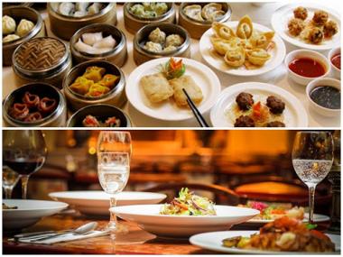Món ăn Á và Âu khác nhau cơ bản nhất điều gì?
