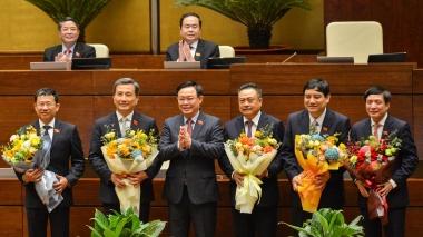 Quốc hội hoàn tất bầu nhiều nhân sự chủ chốt
