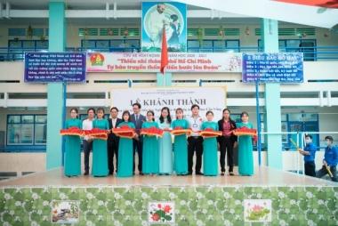 Khánh thành thư viện mới, ActionAid Việt Nam chung sức phát triển văn hóa đọc cho trẻ em