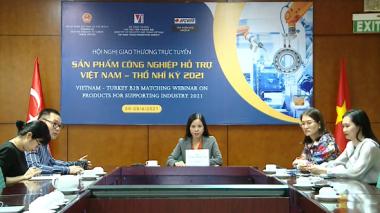 Xúc tiến hợp tác với Thổ Nhĩ Kỳ về sản phẩm, linh kiện điện tử từ Việt Nam