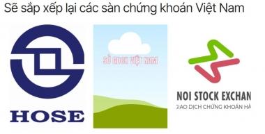 Công bố kế hoạch sắp xếp lại sàn chứng khoán Việt Nam