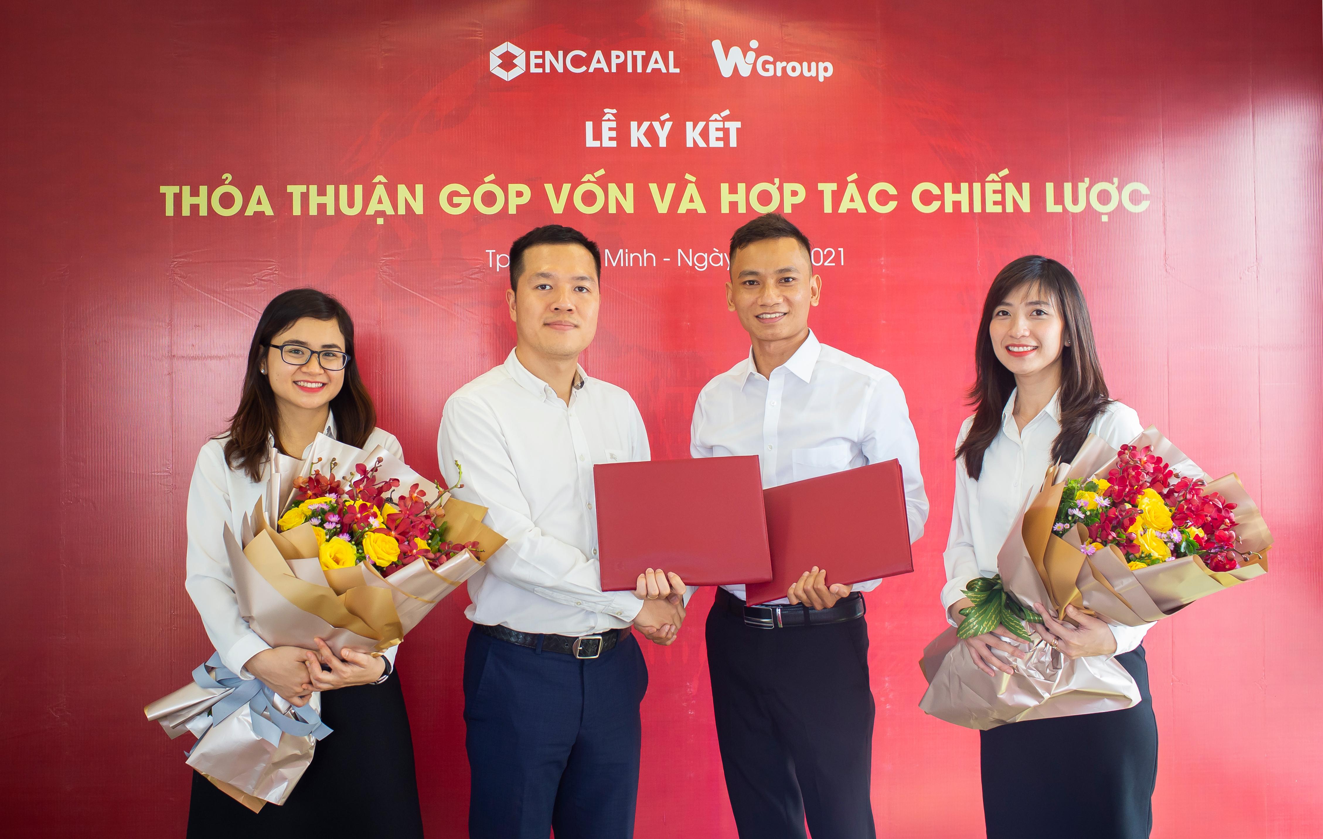ENCAPITAL hợp tác chiến lược với WIGROUP xây giải pháp dữ liệu cho nhà đầu tư Việt