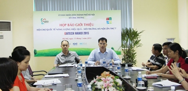 ENTECH HANOI 2015: Thúc đẩy hiệu quả năng lượng - môi trường