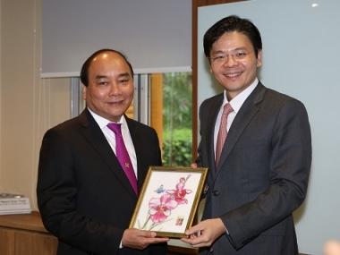 Quan hệ Việt Nam-Singapore đang phát triển mạnh mẽ