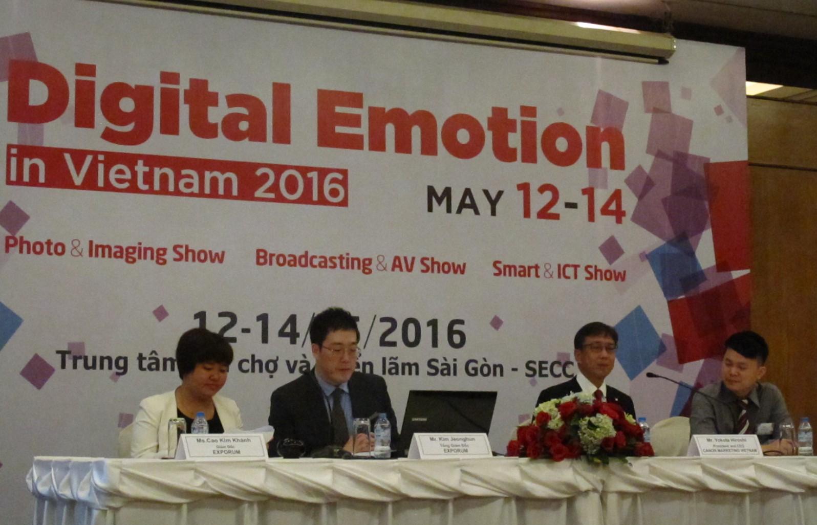 Triển lãm Digital Emotion 2016 xu hướng mới dành cho ngành công nghệ
