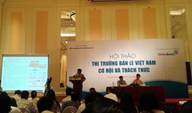 """Doanh nghiệp bán lẻ Việt Nam: """"Nước đến chân rồi vẫn còn đi bộ"""""""