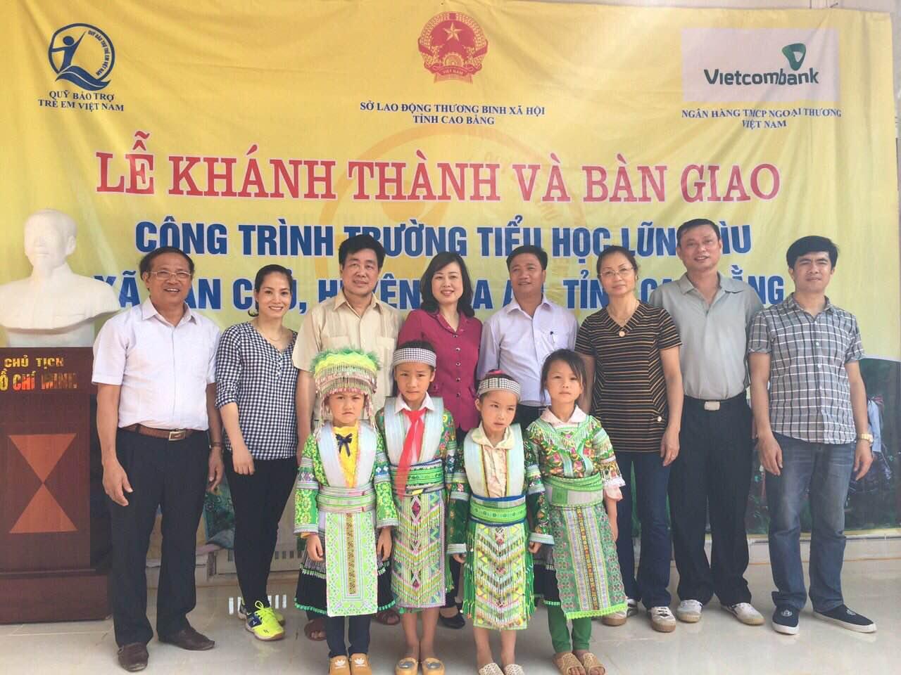 Hiện thực ước mơ xây trường cho học sinh Lũng Lìu, Cao Bằng
