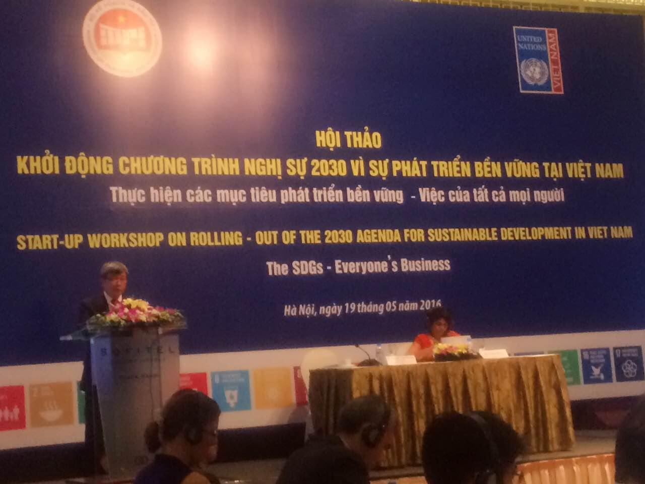 Việt Nam khởi động xây dựng Kế hoạch hành động quốc gia thực hiện SDGs
