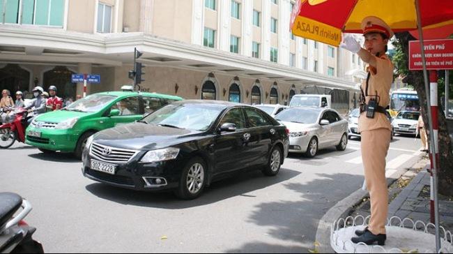 Hà Nội phân luồng giao thông đảm bảo an toàn, thông suốt phục vụ  bầu cử nhiệm kỳ 2016-2021