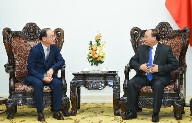 Thủ tướng đánh giá cao Samsung dù khó khăn vẫn tiếp tục đầu tư vào Việt Nam