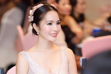 Hoa hậu Dương Kim Ánh bất ngờ xuất hiện lộng lẫy ở sự kiện tại Hà Nội