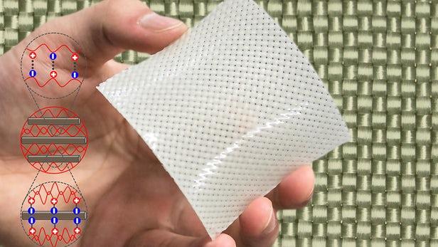 Hydrogel tăng cường bằng sợi thủy tinh mạnh gấp 5 lần thép
