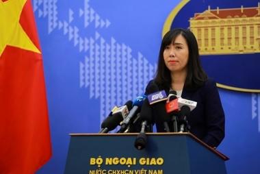 Yêu cầu Trung Quốc ngừng diễn tập máy bay ném bom  ở Hoàng Sa của Việt Nam