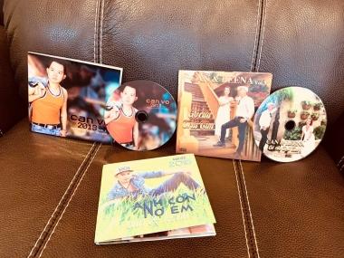 Ca sĩ Can Võ tung bộ ảnh thời trang kỷ niệm CD một thời