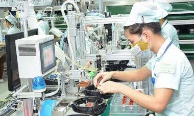 4 tháng đầu năm, sản xuất công nghiệp ước tính tăng 10%